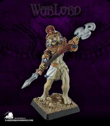 Warlord: Nefsokar - Avatar of Sekhmet (painted by Anne Foerster)