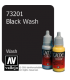 Vallejo Game Color: Acrylic Paint - Black Wash (17ml)