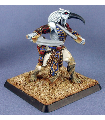 Warlord: Nefsokar - Thoth, Cleric (painted by Anne Foerster)