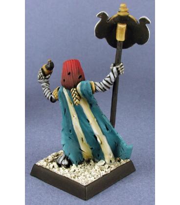 Warlord: Nefsokar - Sokar's Prophet, Cleric (painted by Robert Cruse)