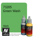 Vallejo Game Color: Acrylic Paint - Green Wash (17ml)