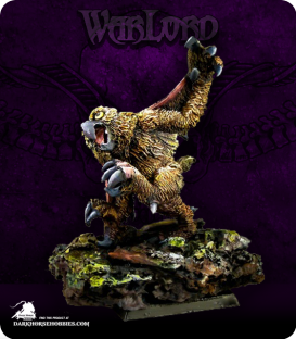 Warlord: Tembrithil - Owlbear (painted by Michael Proctor)