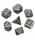 Metal Dwarven Dice Set