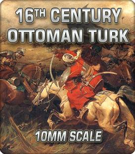 10mm 16th Century Ottoman Turk (1500-1690)