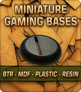 Miniature Gaming Bases