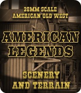 28mm American Old West Scenery