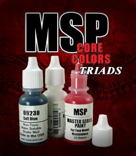 MSP Core Color Triads