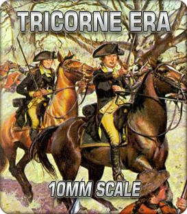 10mm Tricorne Era (1688-1790)
