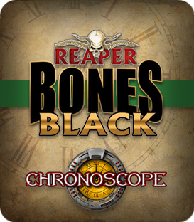 Chronoscope Bones Black