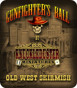 Gunfighter's Ball Mounted Miniatures