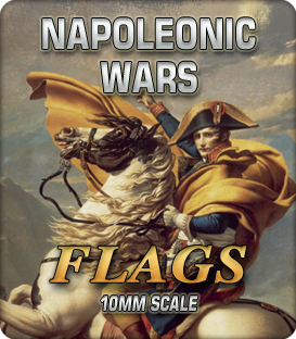 10mm Napoleonic Wars (Flags)