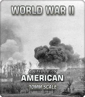 10mm American Artillery (1941-45)