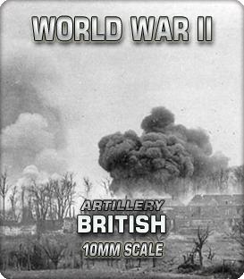 10mm British Artillery (1939-45)