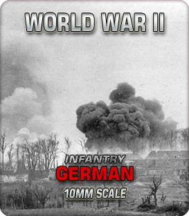 10mm German Infantry (1939-45)