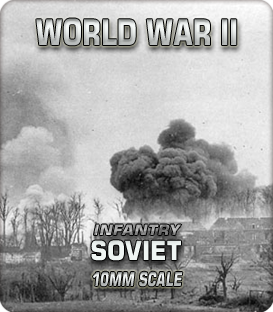 10mm Soviet Infantry (1939-45)