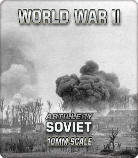 10mm Soviet Artillery (1939-45)