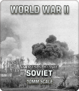 10mm Soviet Parts and More (1939-45)
