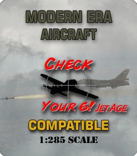 1:285 Scale Modern Aircraft Miniatures