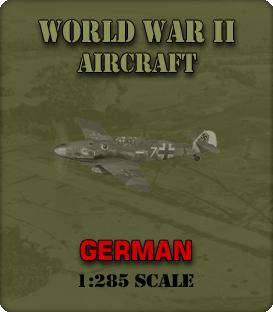 1:285 Scale WW2 German Aircraft