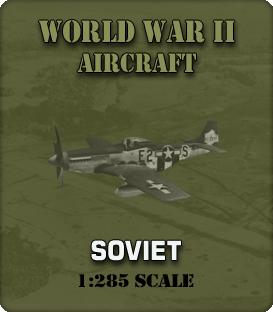 1:285 Scale WW2 Soviet Aircraft