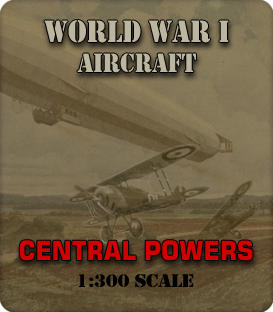 1:285 Scale WWI Central Powers Aircraft