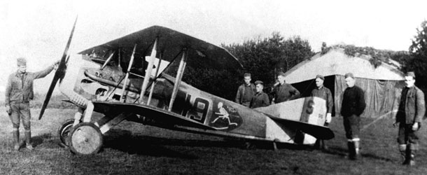 WWI SPAD XIII Fighter - History