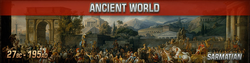 Shop Dark Horse Hobbies for 10mm Early Imperial Rome - Sarmatian Miniatures products - Today!