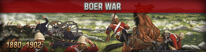 Shop for 10mm Boer War (1899-1902) Gaming Miniatures at Dark Horse Hobbies - Today!