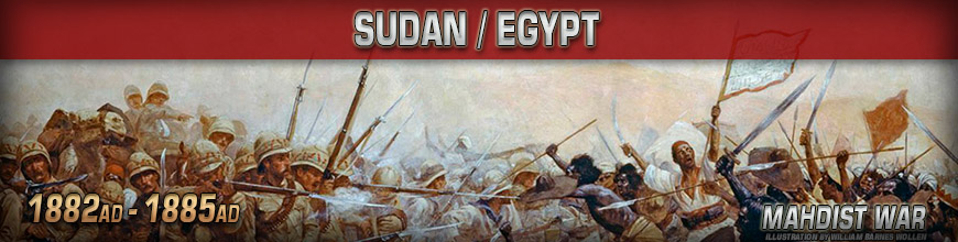 Shop for 10mm Sudan/Egypt (1882-1885) Gaming Miniatures at Dark Horse Hobbies - Today!