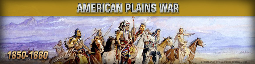 Shop for 10mm American Plains War Gaming Miniatures at Dark Horse Hobbies - Today!