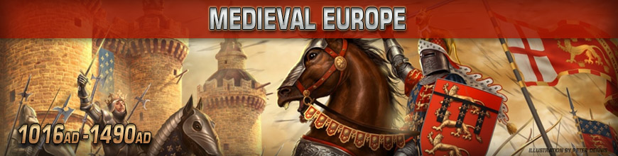 Shop Dark Horse Hobbies for 10mm Medieval Wargaming Miniatures - Today!