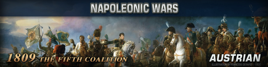 Shop for Pendraken 10mm Napoleonic War 1809 Austrian Historical Miniatures available at Dark Horse Hobbies - Today!