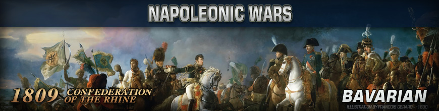 Shop for Pendraken 10mm Napoleonic War 1809 Bavarian Historical Miniatures available at Dark Horse Hobbies - Today!