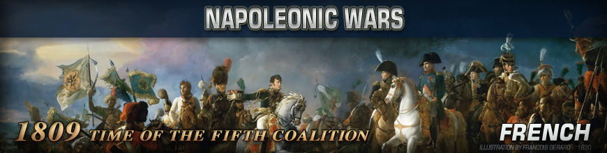Shop for Pendraken 10mm Napoleonic War 1809 French Historical Miniatures available at Dark Horse Hobbies - Today!