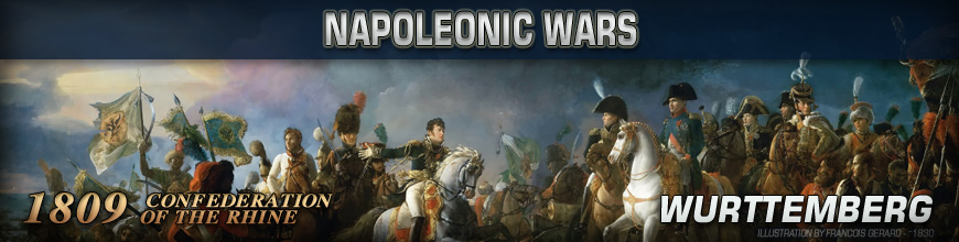 Shop for Pendraken 10mm Napoleonic War 1809 Wurttemberg Historical Miniatures available at Dark Horse Hobbies - Today!
