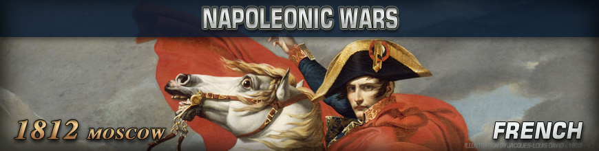 Shop for Pendraken 10mm Napoleonic War 1812 (Moscow) French Historical Miniatures available at Dark Horse Hobbies - Today!