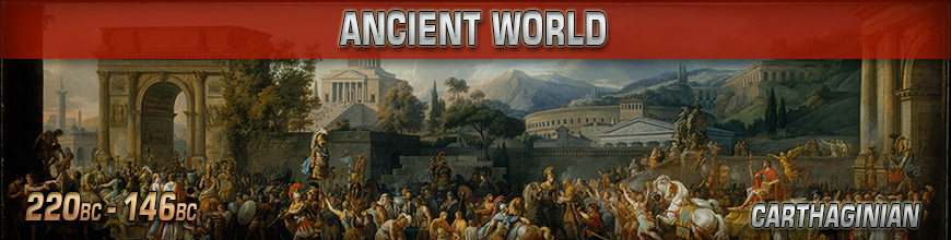 Shop Dark Horse Hobbies for 10mm Punic Wars - Carthaginian Miniatures products - Today!