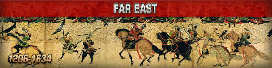 Shop for 10mm Historical Far East Asia Gaming Miniatures at Dark Horse Hobbies - Today!