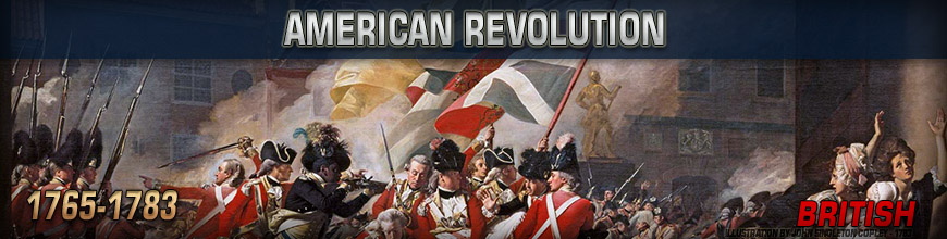Shop for Pendraken 10mm American Revolution British Historical Wargame Miniatures at Dark Horse Hobbies - Today!