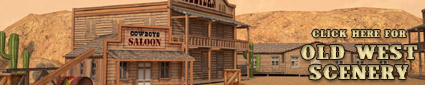 Shop for American Old West Buildings and Gaming Scenery at Dark Horse Hobbies - Now!