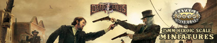 Shop for Deadlands (Savage Worlds) - American Wild West Gaming Miniatures at Dark Horse Hobbies - Now!