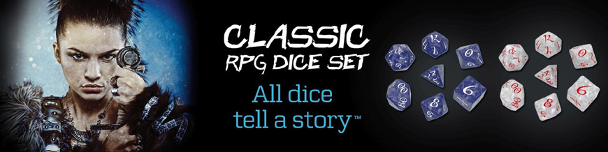 Shop Dark Horse Hobbies for Classic RPG Dice Sets by Q-Workshop - Today!