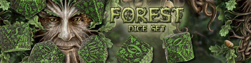 Shop Dark Horse Hobbies for Forest Dice Sets by Q-Workshop - Today!