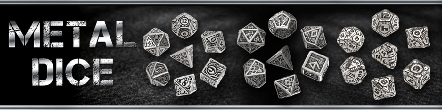 Shop for Q-Workshop Metal Dice at Dark Horse Hobbies - Today!