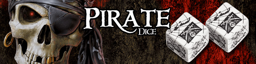 Shop Dark Horse Hobbies for Pirate Dice Sets by Q-Workshop - Today!