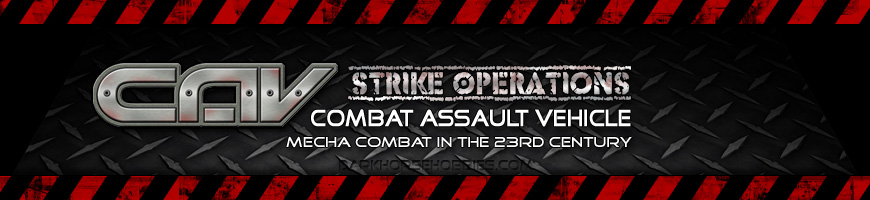 Shop Dark Horse Hobbies for your Combat Assault Vehicle - Strike Operations [C.A.V.] Tabletop Wargame complete with Miniatures, Scenery and More!