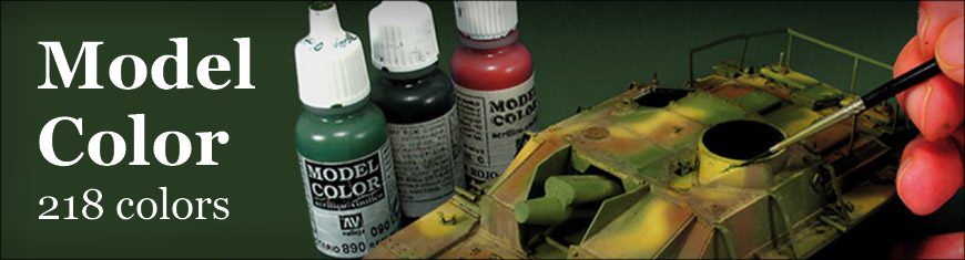 Get your Model Color Acrylic Paint for models and miniatures by Acrylicos Vallejo at Dark Horse Hobbies - Today!