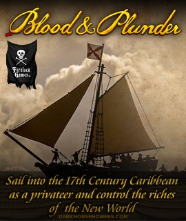 Blood & Plunder: 28mm Scale Pirate Skirmish Tabletop Miniatures Game... at Dark Horse Hobbies!