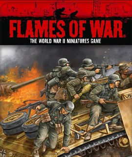 Flames of War: The World War II Miniatures Game.... available at Dark Horse Hobbies - Now!