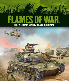 Flames of War: Vietnam War Miniatures Game.... available at Dark Horse Hobbies - Now!